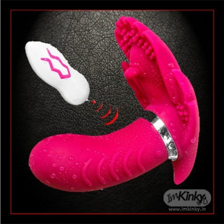Remote control Wireless Clitoris Luxury Vibrator LXV-029