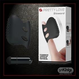 Prettyy Love Silicone Finger Vibrator BV-031