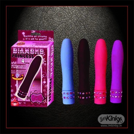Diamond Princess Silicone Vibrator DV-014