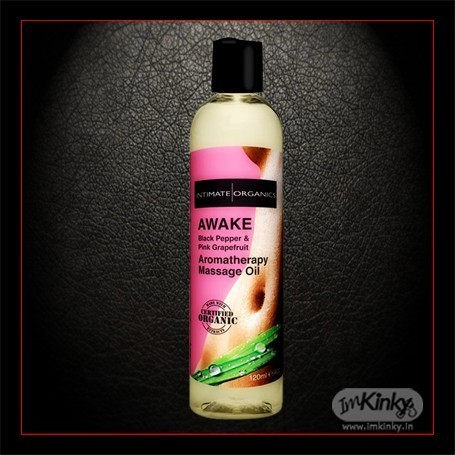 AWAKE AROMATHERAPY MASSAGE OIL-Black Pepper 120ml CGS-015