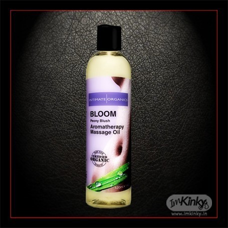 BLLOOM AROMATHERAPY MASSAGE OIL-Peony Blush 120ml CGS-016