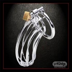 Stainless Steel Iron Wire Male Chastity Lock IkBDSM-016