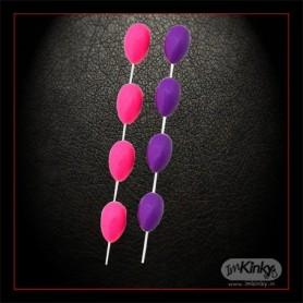 Clitoris & Fussy Beads Stimulation Love Balls AD-016